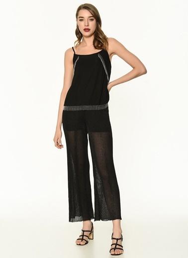 Ipekyol Kadın  Pantolon IS1190003112 Siyah